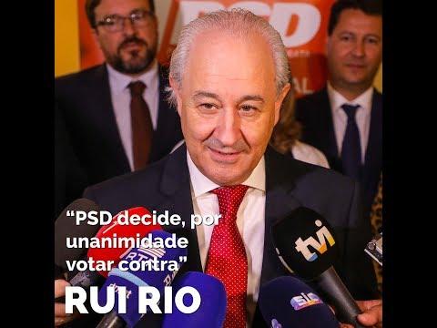 OE 2019: PSD decide, por unanimidade, votar contra