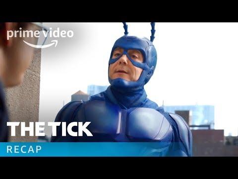 The Tick Season 1 - Official Recap   Prime Video