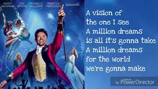 Video A Million Dreams Lyrics-the greatest showman MP3, 3GP, MP4, WEBM, AVI, FLV Juni 2018