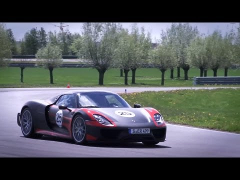 2015 Porsche 918 Spyder Hybrid   First Drive | Video