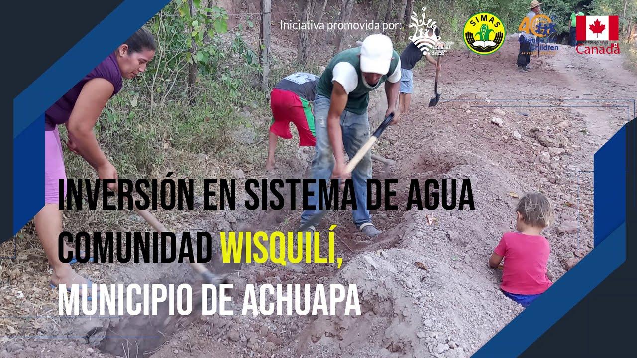 Personas Beneficiadas Comunidad Wisquilí, Achuapa