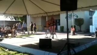 Singing at the dixon may fair