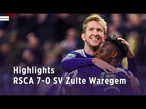 RSC Royal Sporting Club Anderlecht Bruxelles 7-0 S...
