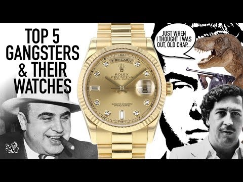 Top 5 Gangsters & Their Watches - Rolex, Patek Philippe, Hamilton & Bulova