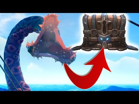 Sea Of Thieves - Stealing The Kraken's Treasure!?