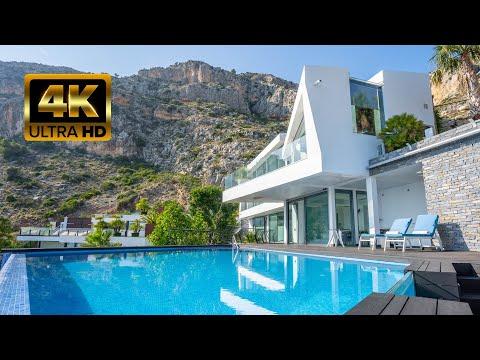 2240000€ Шикарная новая вилла премиум класса с видом на море в Алтее/Элитная недвижимость Испании