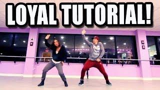 LOYAL - Chris Brown Dance TUTORIAL | @MattSteffanina & @DanaAlexaNY Choreography (Hip Hop) - YouTube