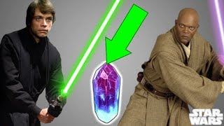 The MOST POWERFUL Lightsaber Crystal In Star Wars - According To Luke Skywalker