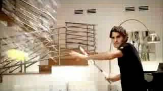 Roger Federer's fantastic new Nike commercial. So incredible, and hilarious too!