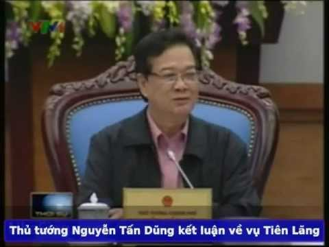 Thủ tướng Nguyễn Tấn Dũng kết luận vụ cưỡng chế ở Tiên Lãng
