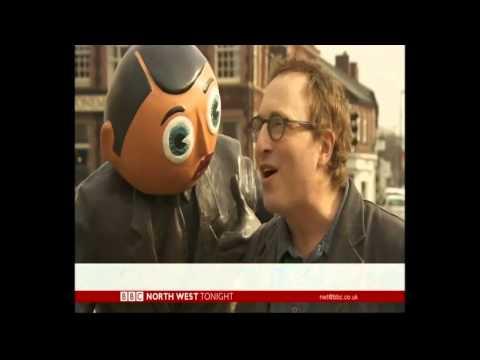 Jon Ronson Talking FRANK with Harry Sievey in Timperley