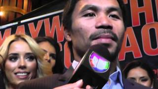 Manny Pacquiao Invites Floyd Mayweather To Bible Study After Fight EsNews