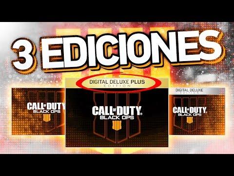 EDICIÓN DIGITAL DELUXE PLUS!!! 3 Ediciones de BLACK OPS 4 encontradas en Black Ops 3! (видео)