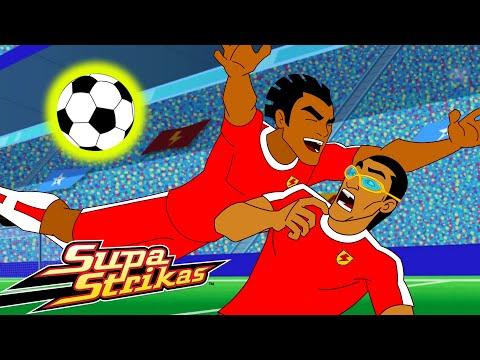 S5 E11 Cheer and Loafing in Las Vegas | SupaStrikas Soccer kids cartoons | Super Football Animation
