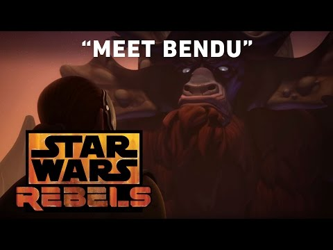 Star Wars Rebels Season 3 Clip 'Meet Bendu'