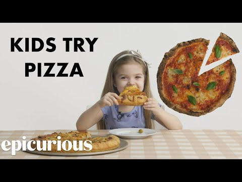 Kids Try 10 Styles of Pizza from Around the World | Bon Appétit