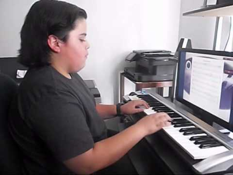 Piano Video: Online Piano Lesson #61 The Rakes Of Mallow played by Michael