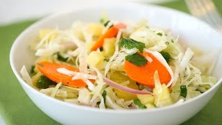 Spicy Slaw with Pineapple - Everyday Food with Sarah Carey by Everyday Food