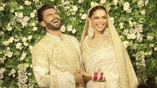 Ranveer Singh & Deepika Padukone Look Like A Match Made In Heaven At 2nd WEDDING Riception In Mumbai