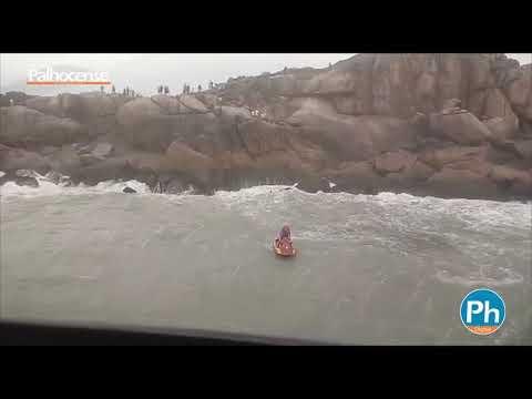 Afogamento de três turistas na Guarda do Embaú