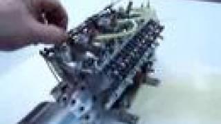 V 12 Modellmotor RC Engine the original Video !