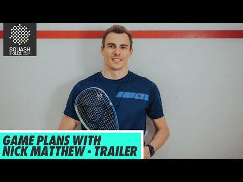 Squash Coaching: Game Plans With Nick Matthew | Trailer
