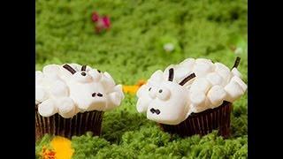 Videricetta: cupcakes a pecorelle