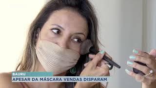 Bauru: Aumentou a procura por produtos faciais na pandemia