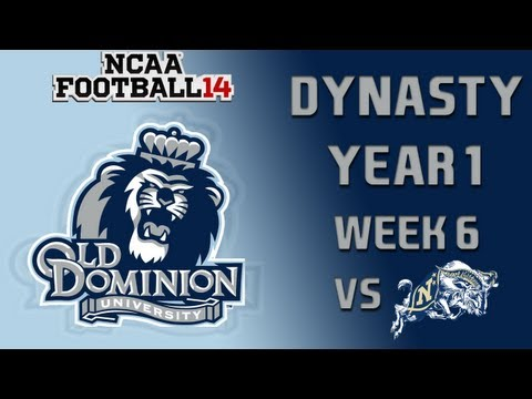 NCAA Football 14 Dynasty - Old Dominion: Episode 7