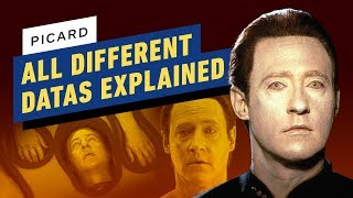 Picard: All The Different Datas Explained by IGN