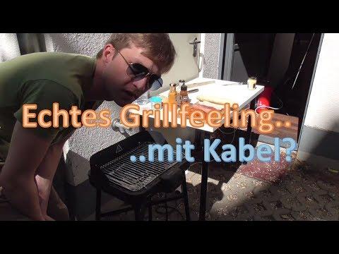 Echtes Grillfeeling mit Kabel1? Felix Rennies testet seinen Elektrogrill Grillkern von Klarstein