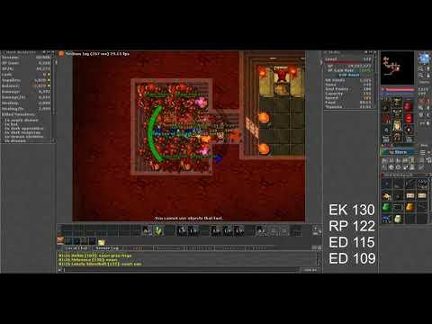 Tibia – Annihilator quest RP 122 (Amera)