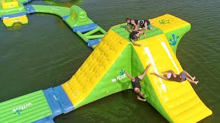 Video Nerf Blasters Floating Island Battle | Dude Perfect MP3, 3GP, MP4, WEBM, AVI, FLV Agustus 2018