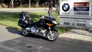 4. 2004 BMW K1200 LT Black