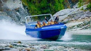 Nouvelle Zélande : le bateau est équipé d'un moteur Jet