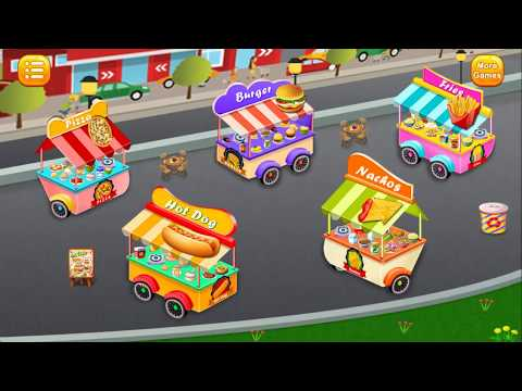 Kids Kid - Street Food Cooking Fever |  Cooking Game