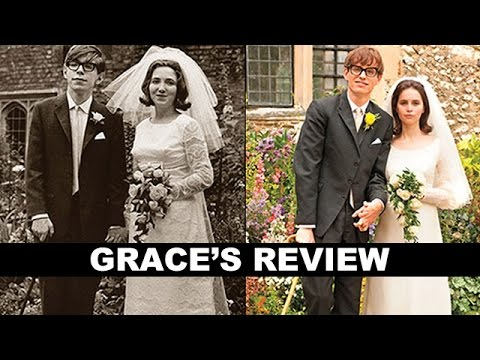 review trailer - The Theory of Everything movie review! Beyond The Trailer host Grace Randolph shares her review aka reaction today for this 2014 movie! http://bit.ly/subscribeBTT The Theory of Everything...
