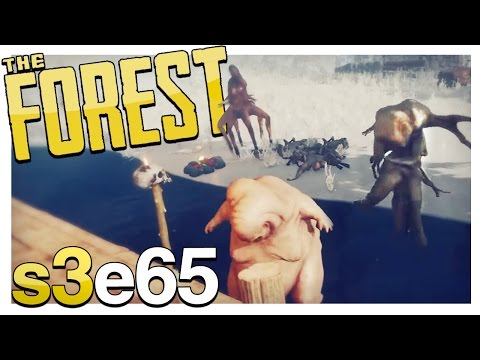 THE GANG'S ALL HERE | The Forest Gameplay S3E65 (Alpha v0.55)