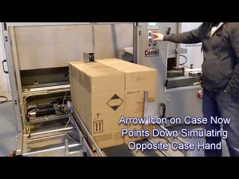 Ambidextrous 2-EZHS Case Erector with Case Sealer