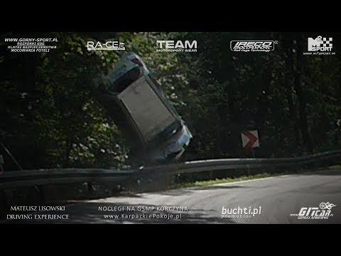 BIG HILLCLIMB CRASH !! - Citroen C2 R2