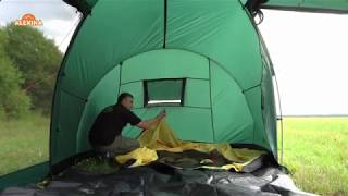 Палатка с двумя спальнями (3+3) и большим тамбуром. Alexika Maxima 6 Luxe