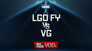 LGD Forever Young vs Vici Gaming, ESL One Genting Quals, game 1 [Lex, 4ce]