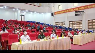 Uông Bí: Sôi nổi Hội thi pháp luật về Dân quân tự vệ năm 2021