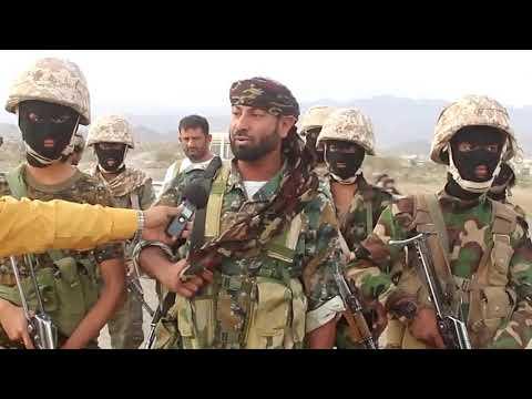 قائد قوات الحزام الامني العقيد احمد قائد ابو نافع يؤكد ان الضالع خط أحمر