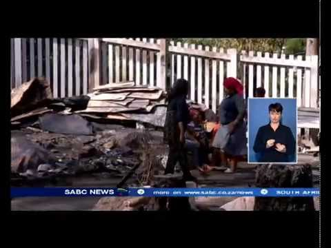 Fire spread at Hout Bay informal settlement