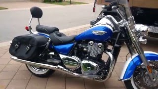 2. First Day - A look at the 2014 Triumph Thunderbird LT