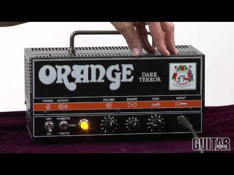 Orange Dark Terror Amplifier