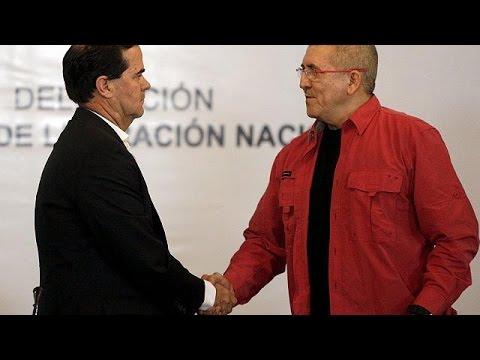 Κολομβία: Ειρηνευτικές συνομιλίες κυβέρνησης – ELN