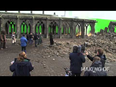 set - Go on set with Daniel Radcliffe, Emma Watson, and Rupert Grint as Harry Potter gets ready for his final battle. Watch more at http://makingof.com/