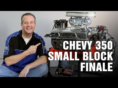 How-To Complete Rebuild Chevy 350 Small Block Engine Motorz #69